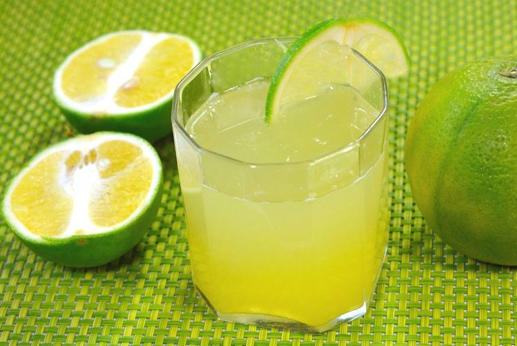 benefits of drinking lime water before bed
