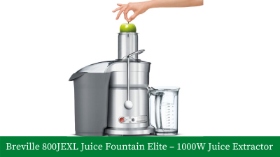 Breville 800JEXL Juice Fountain Elite – 1000-Watt Juice Extractor