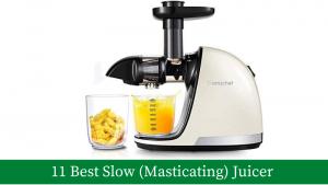 11 Best Slow (Masticating) Juicer Machine