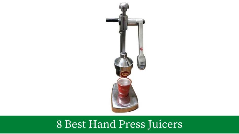 8 Best Hand Press Juicers