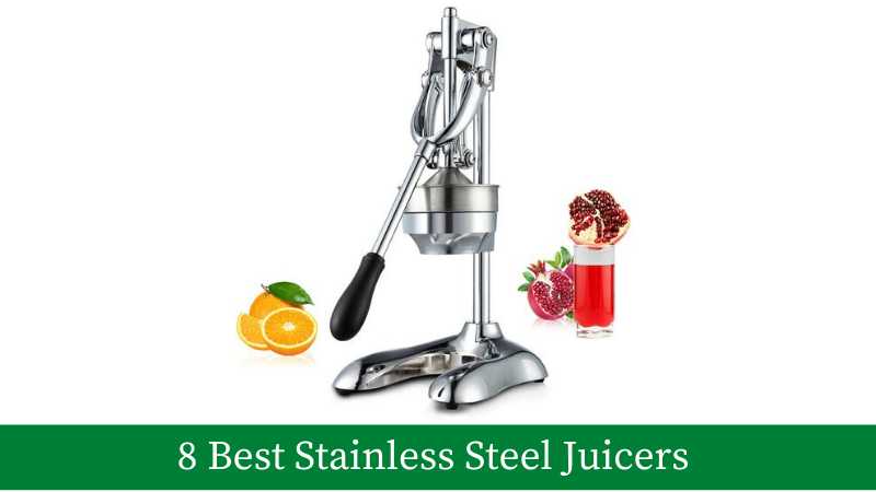 8 Best Stainless Steel Juicers With Reviews