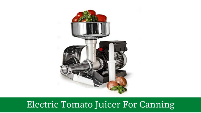 Top 10 Electric Tomato Juicers For Canning (Complete Guide)