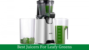 Aicok juicer image for leafy greens