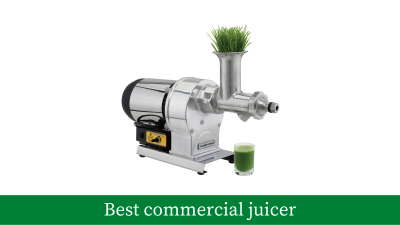 5 Best commercial juicer reviews (updated with the latest models)