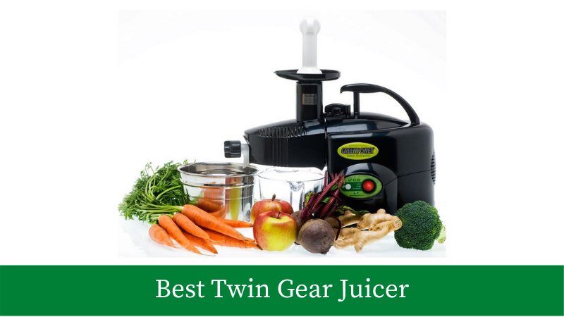 Best twin gear juicers available online